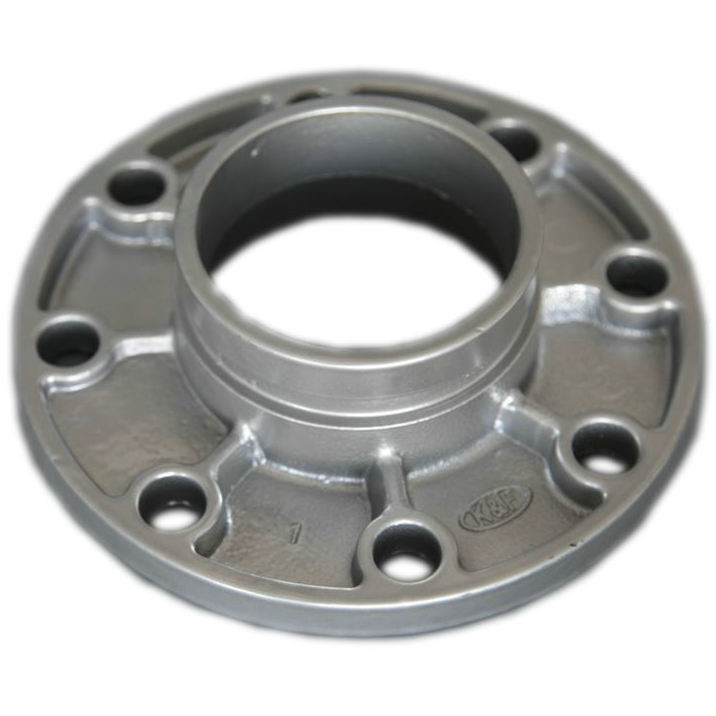 "Lightweight Ductile Iron Pipe Fittings Grooved Flange Adapter 1""-24"""