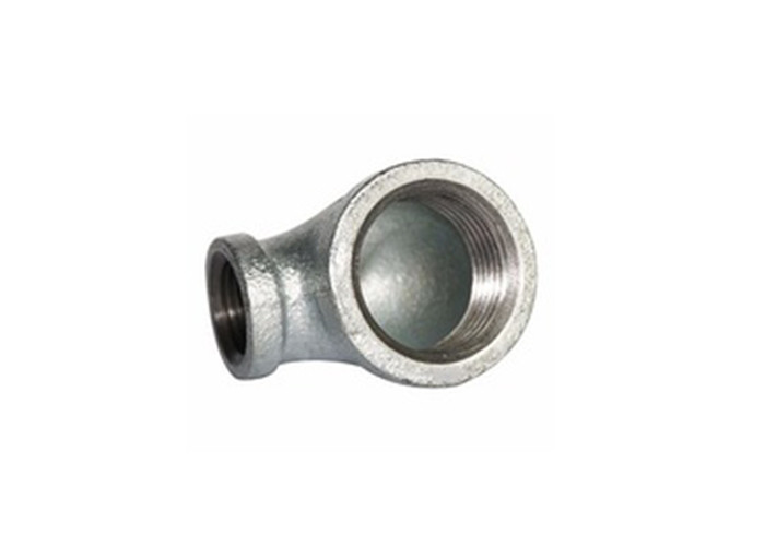 Galvanized Casting Malleable Iron Pipe Fittings Black Iron Elbow Round Head Shape