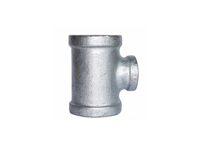 Smooth Surface Gi Tee Reducer Gi Pipe Fittings With Strict Annealing Process