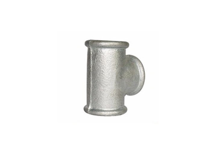 Durable Malleable Iron Tee Grooved 1.5D 50mm Pipe Fittings With FM/UL Certificates