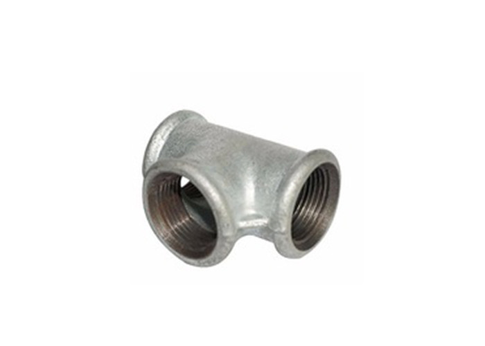 Female Forged Drain Pipe Tee Fittings , 4 Inch Sanitary Tee Fitting Impact Resistance
