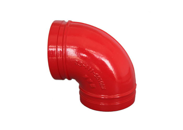 11.25 / 22.5 / 45 / 90 Degree Ductile Iron Elbow Fire Protection Fittings